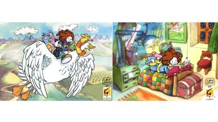 """ambienti e character design serie animata """"Camelia"""" (cliente: Graphilm)"""