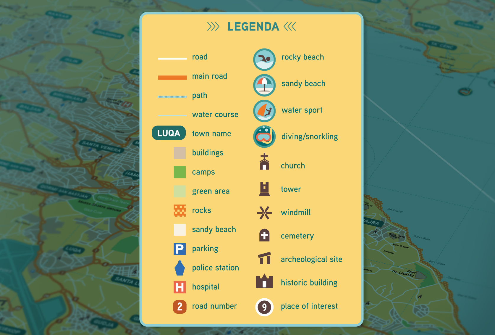 MALTA illustrated infographic road map